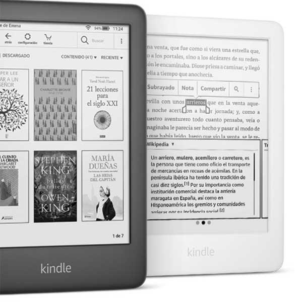 Nuevo Kindle con luz 9 generacion